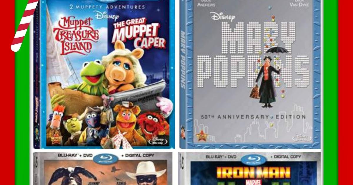 snymed: Muppets, Mary Poppins, Lone Ranger, Iron Man & Hulk