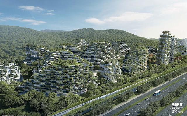 Η πρώτη πόλη δάσος δημιουργείται στην Κίνα