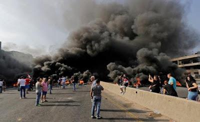 قوات الامن, مظاهرات لبنان, مواجهات المتظاهرين, بيروت, مطالب المحتجين, اصلاح الوضع بالبلاد,