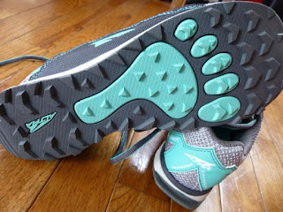 Sole in Altra Zero Drop Running Shoes