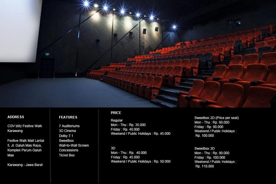 Alamat CGV Cinemas Festive Walk Karawang