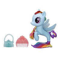 MLP The Movie Glitter & Style Rainbow Dash Seapony