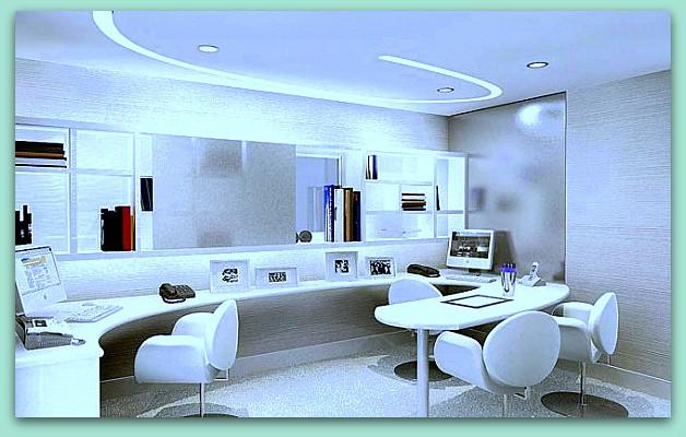 Dise o y decoraci n de la casa instale una oficina for Diseno de oficinas modernas en casa
