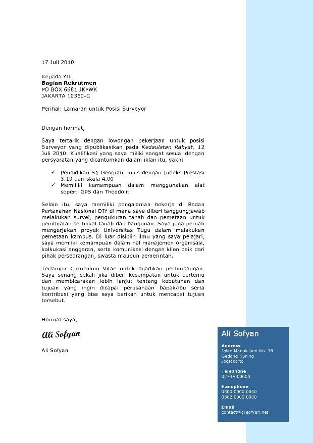 Contoh Cover Letter Untuk Jobsdb Writinghtml Web Fc2 Com