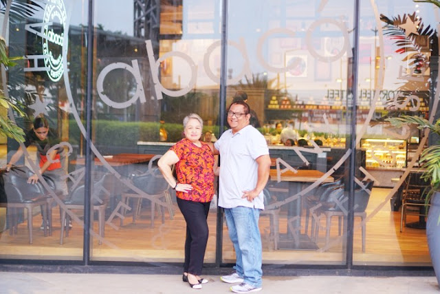 Carlo Olano of Kalami Cebu and Emma Villarente at Abaca Baking Company, Robinsons Galleria Cebu