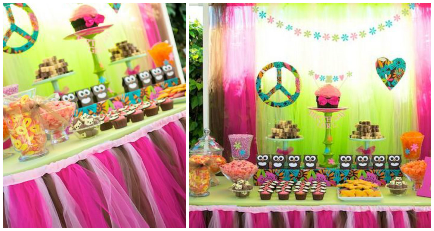 15 ideas para decorar mesas de dulces con tul mimundomanual - Decoraciones para postres ...