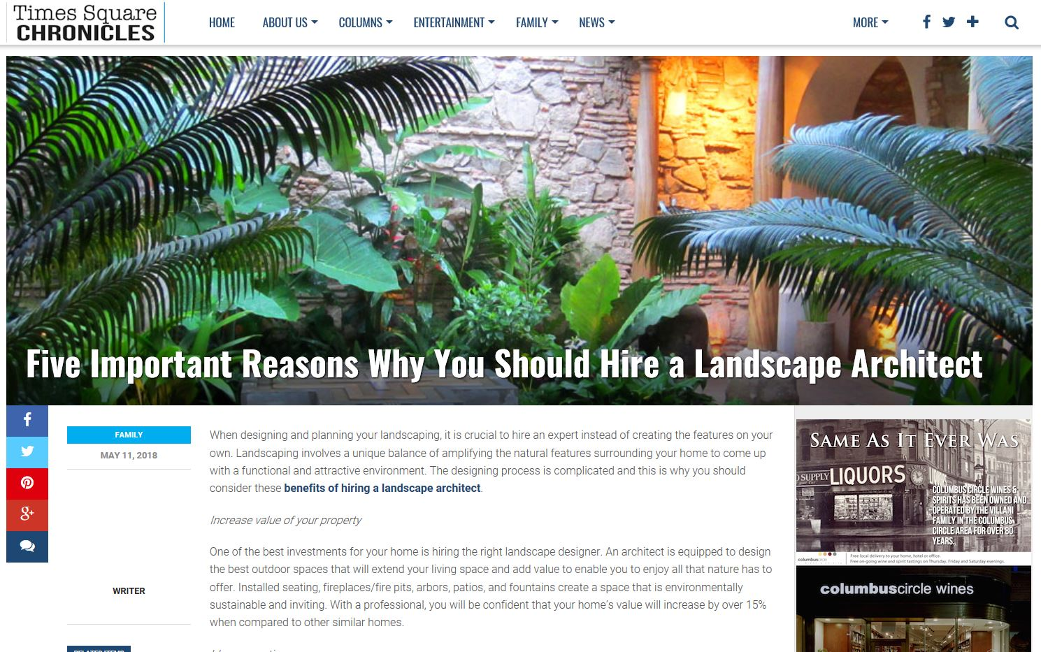 Viriditas Design - Landscape Architecture: Why you need a ...