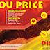 Promo D'cost Up To You Price Makan Dapat Bayar sesuka hati Di Outlet Terpilih
