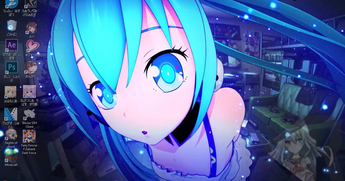 Hatsune miku 3d live wallpaper free download ryuublogger - 3d animation wallpaper download ...