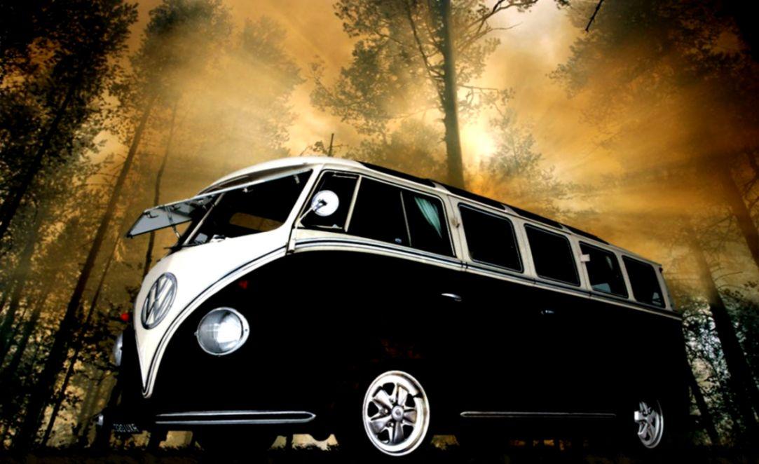 Volkswagen Combi Minibus Hd Walllpaper Spot Wallpapers