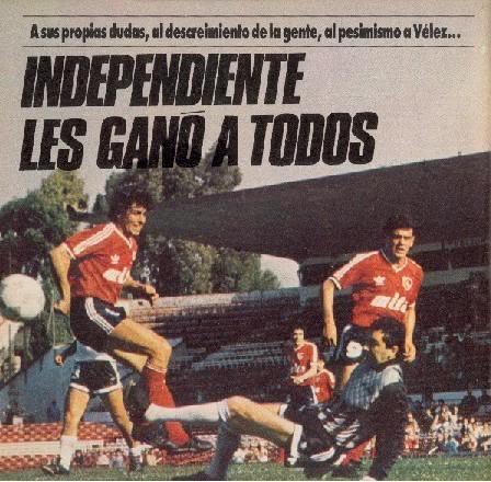 Resultado de imagen para independiente 88/89