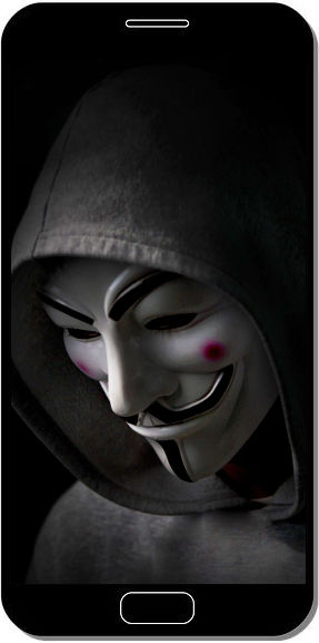 Dark Anonymous - Fond d'Écran en QHD pour Mobile