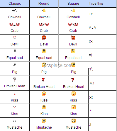 xarogije facebook icons for chat