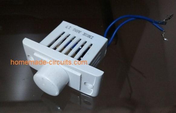 light dimmer fan control 220V prototype model