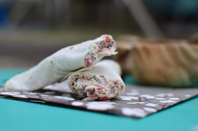 Wrappeja savuporotäytteellä