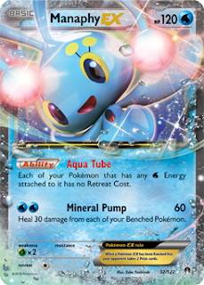 Manaphy EX BREAKpoint Pokemon Card