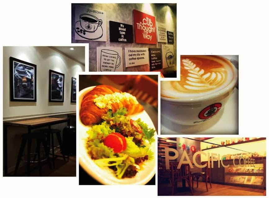 Pacific Coffee, New Outlet, Sunway Pyramid, coffee, pacific coffee interior design, coffee house interior design, food