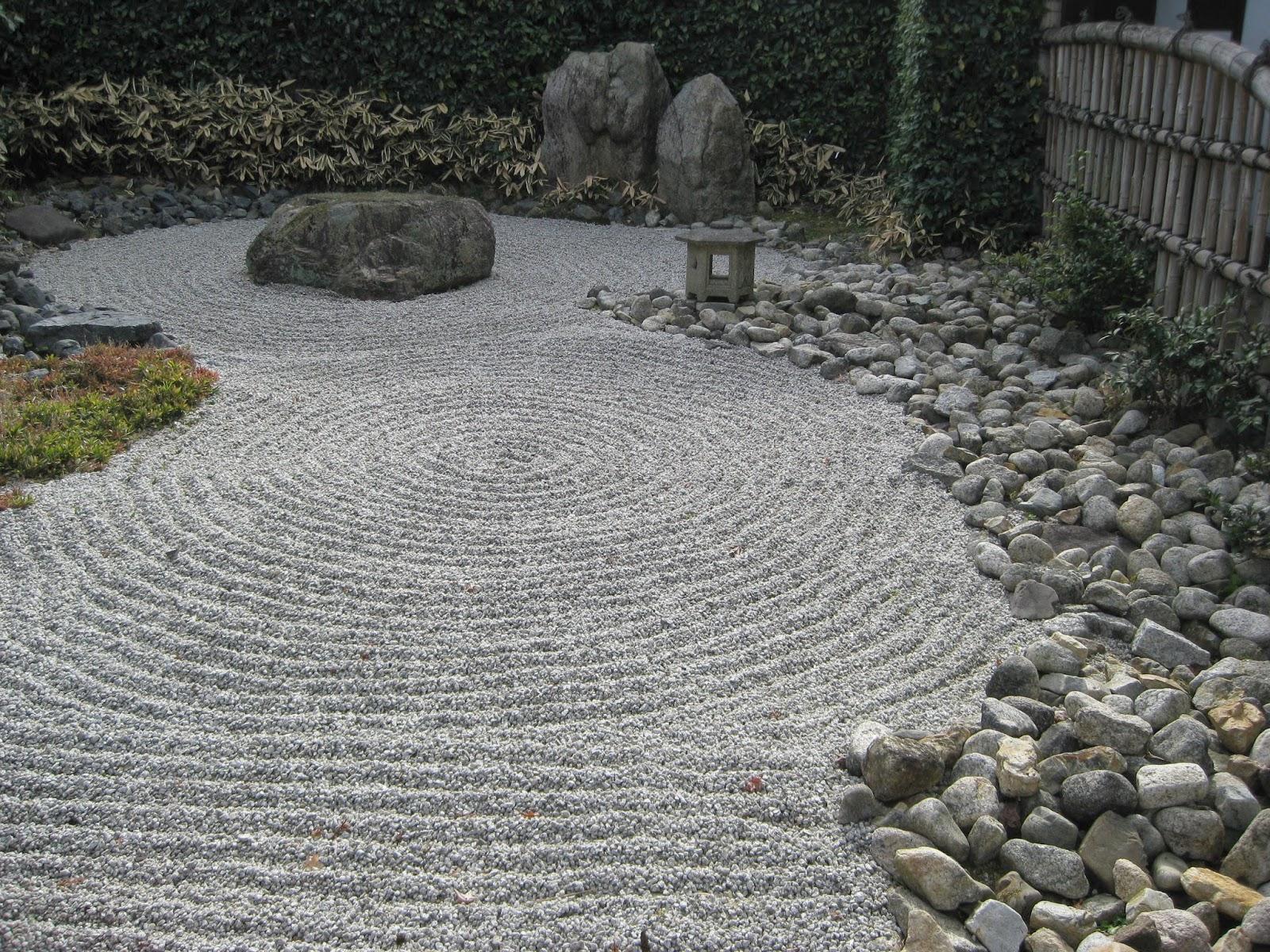 Kyoto - Zen rock garden