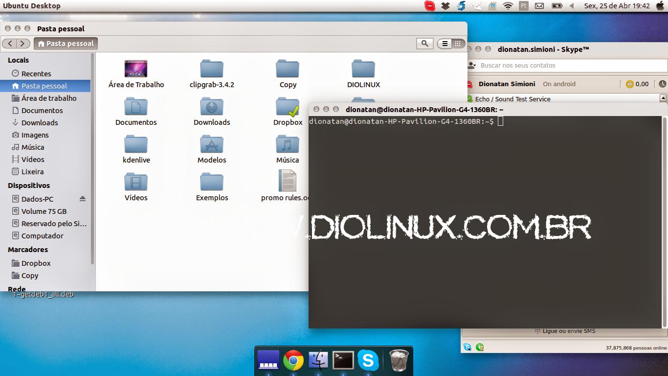 1b94ad25551 Instale o tema do Mac OSX no seu Ubuntu 14.04 LTS - Diolinux - O ...