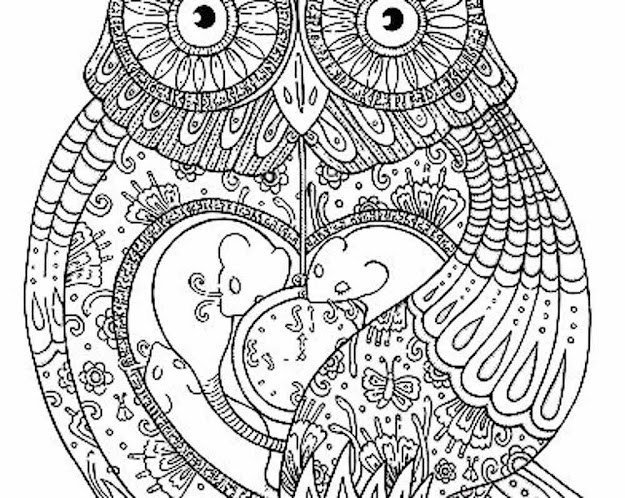 Cool Pictures To Color For Adults