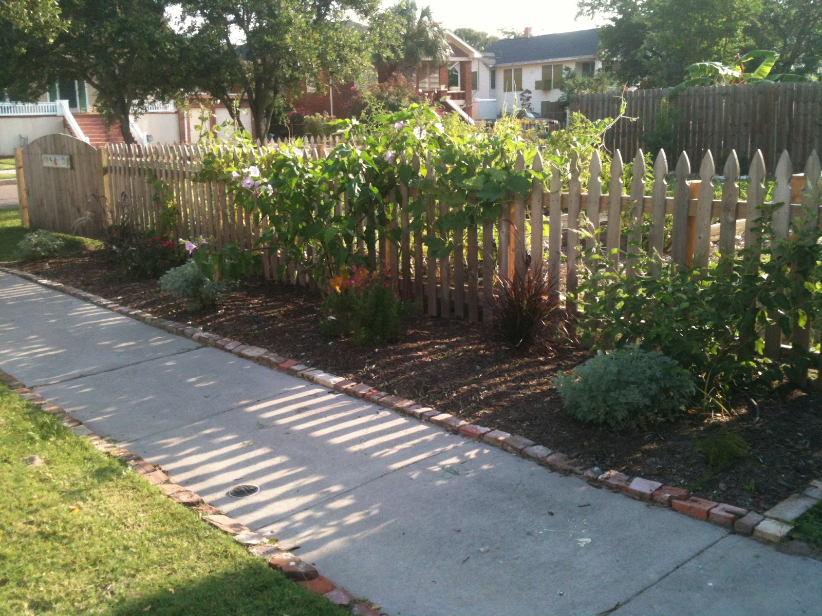 clean galveston backyard garden tour: plans for flower garden clean