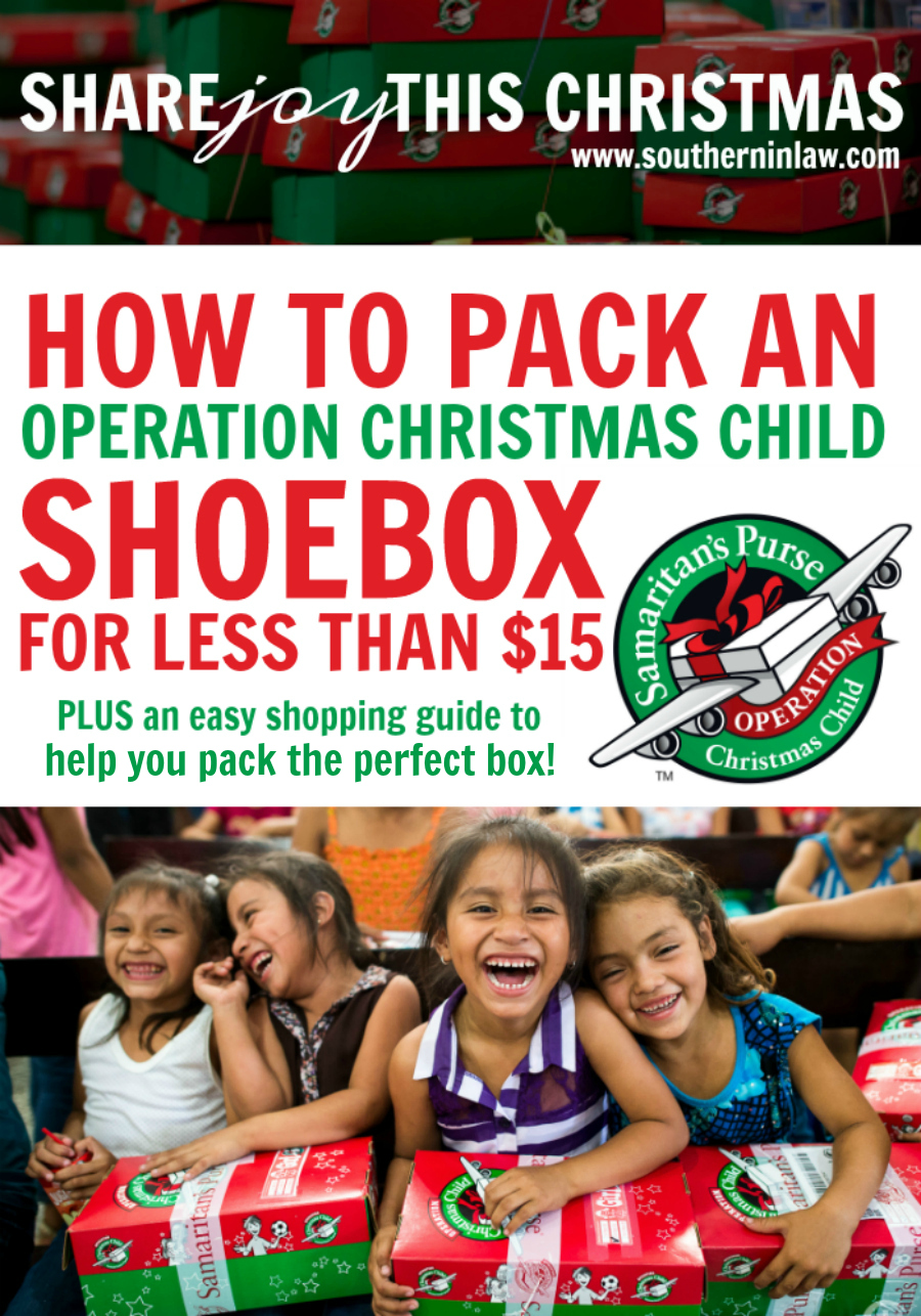 how to pack an operation christmas child shoebox for less than 15 - Operation Christmas Child Shoeboxes