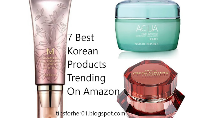 7 Best Korean Beauty Products Trending On Amazon