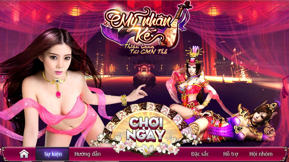 Webgame Mỹ Nhân Kế - Thiên Long Tái CMN Thế 2015