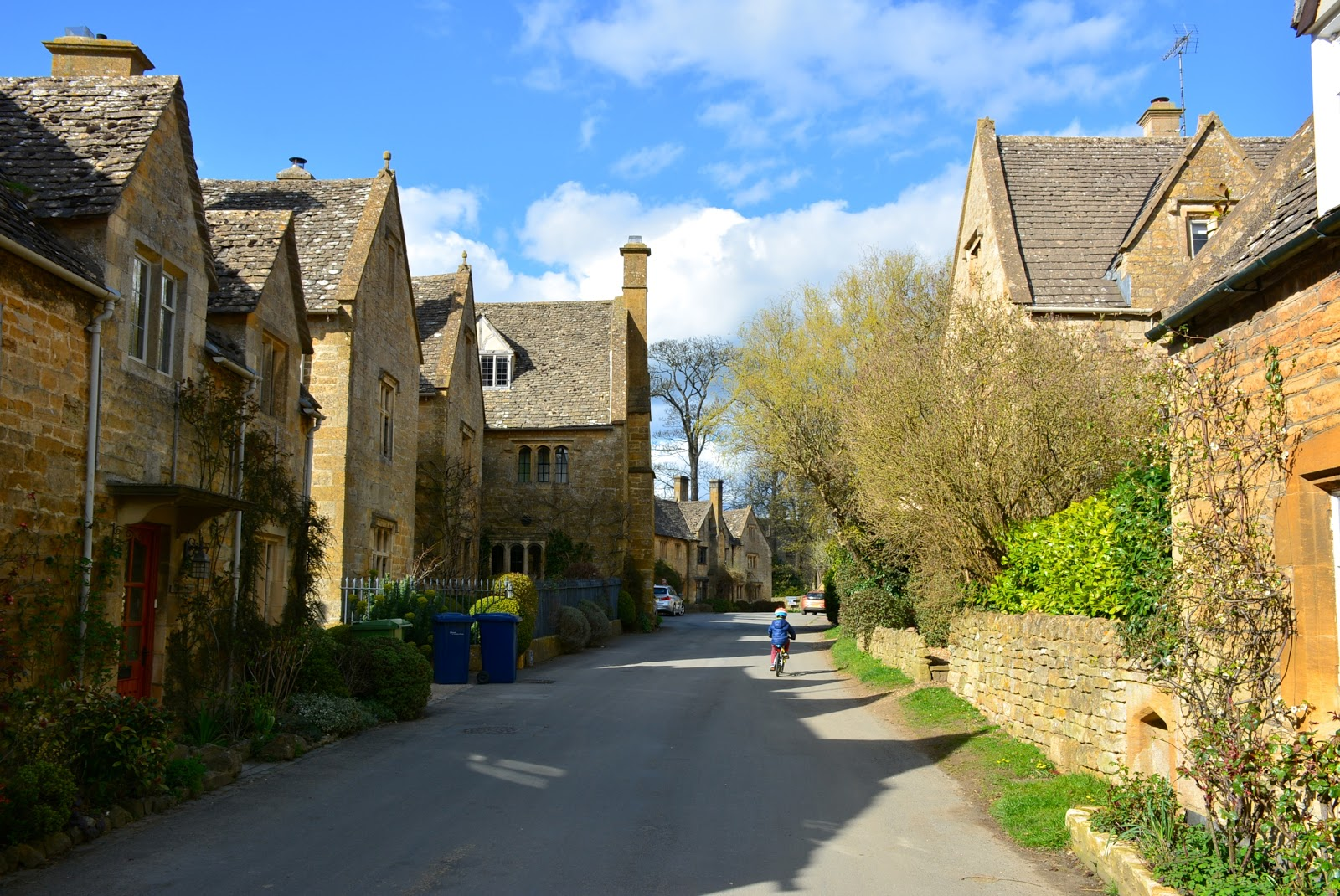 Biking in Stanton, Cotswolds