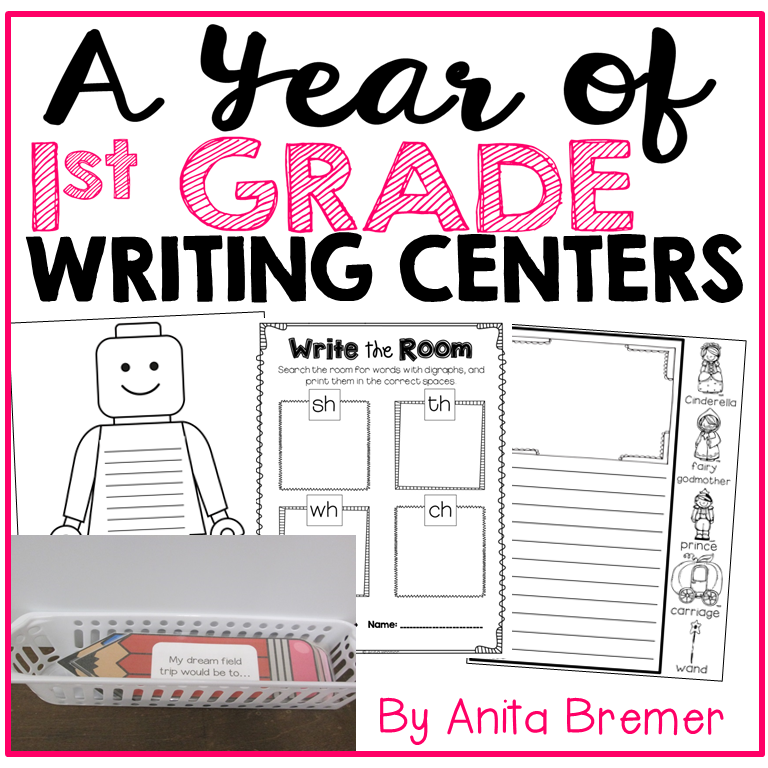 First Grade Literacy Centers | Writing | Word Work | Fall