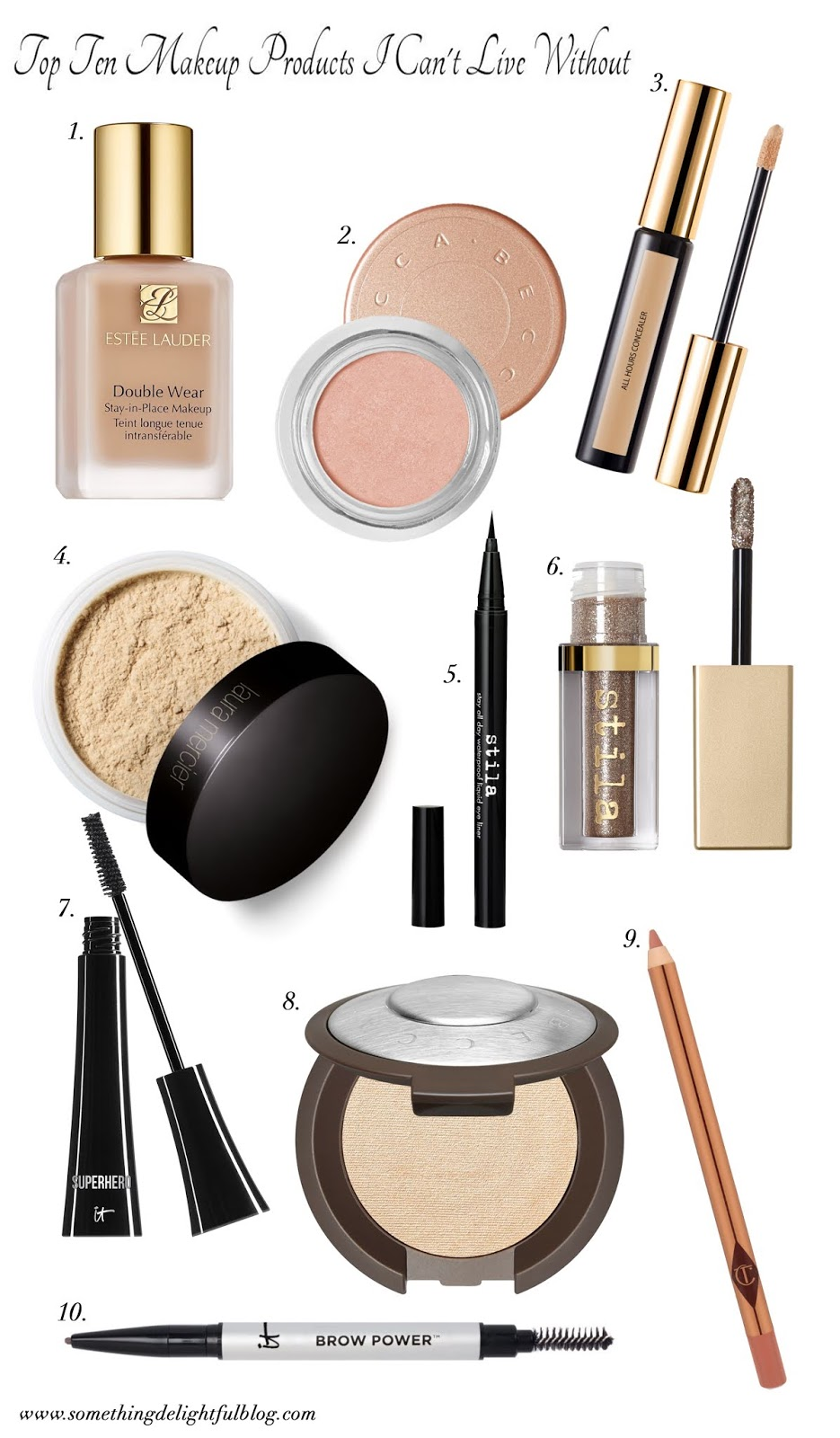 Sephora Beauty Insider Event: Ten Makeup Products I Can't Live Without - Something Delightful Blog