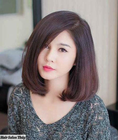 Kiểu tóc cho người mặt tròn 3- lunafashion.online