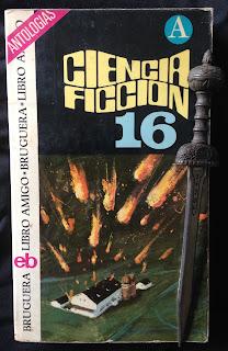 Portada del libro Ciencia ficción 16, de varios autores