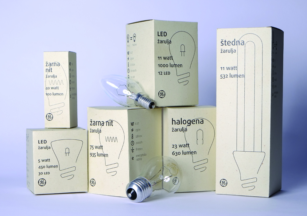 GE Eco Friendly Light Bulbs