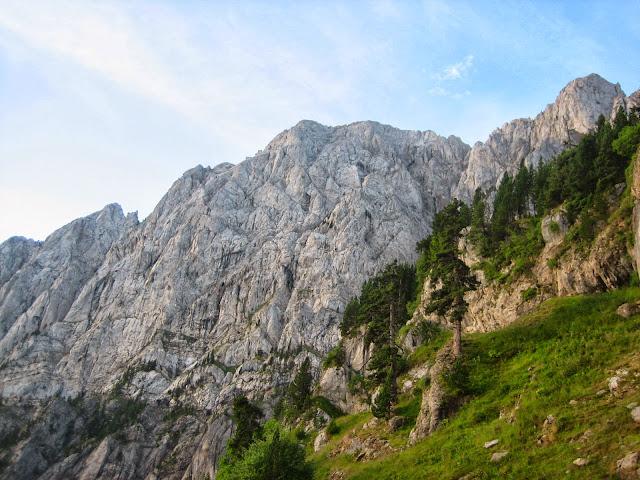 Cara nord del Pedraforca