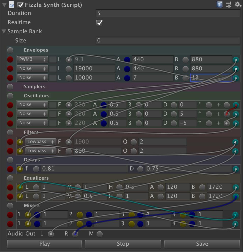 Entity Crisis: Fizzle: The Unity Modular Synthesizer