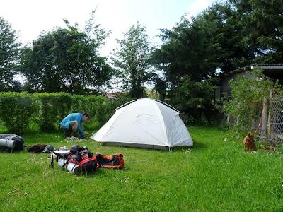 サントーバン・シュル・メール Saint-Aubin-sur-Mer GR21 キャンプ場 Camping L'Isolette
