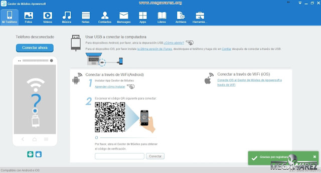 Apowersoft Phone Manager PRO imagenes