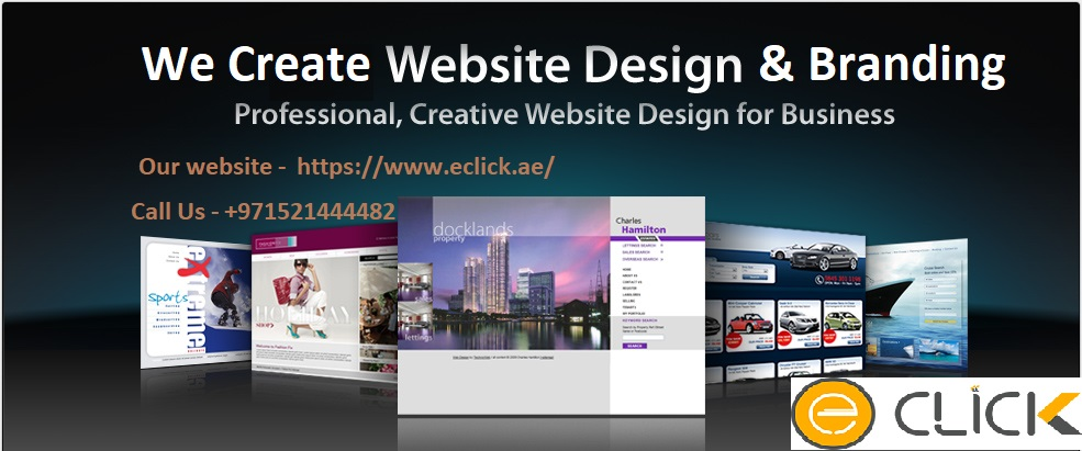 Eclick Best Web Design Branding Digital Marketing Agency In Abu Dhabi Uae No 1 Web Design And Branding Design Company Abu Dhabi Eclick