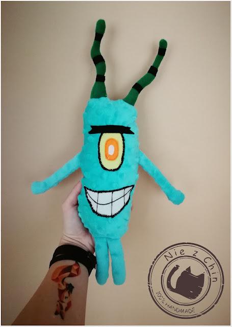 Maskotka Plankton z bajki Spongbob