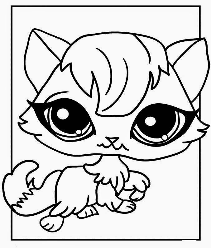 Malowanki, kolorowanki do druku i rysowanie :): Pet Shop