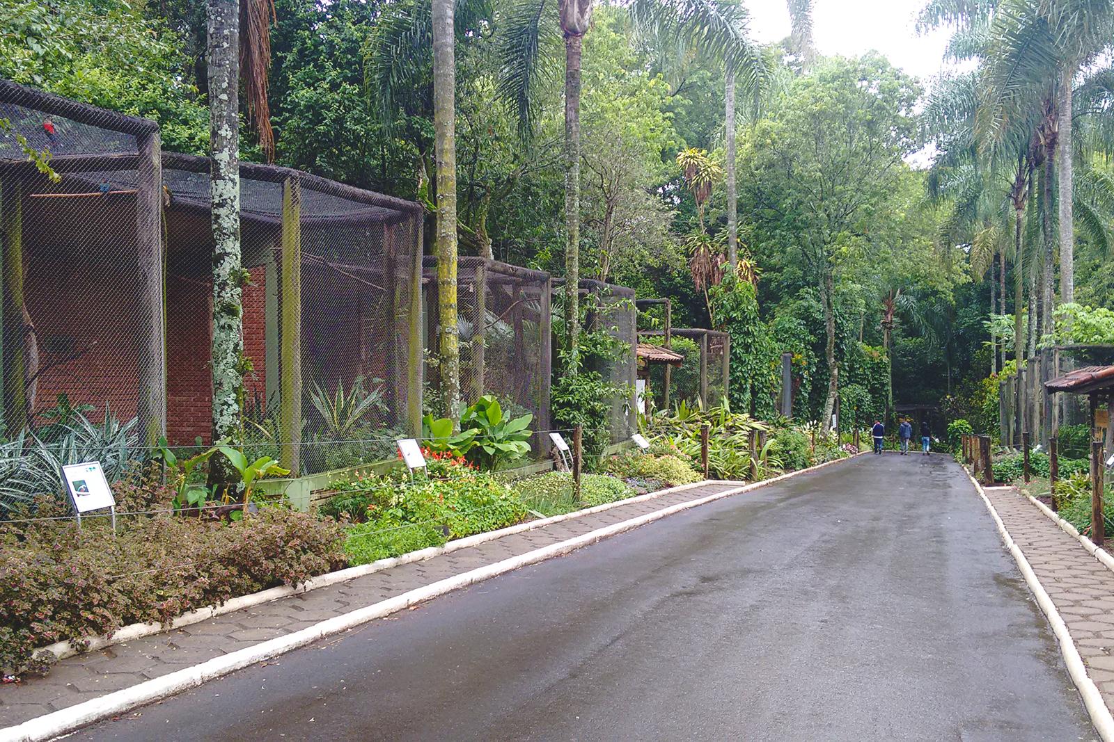 gaiolas zoológico de bauru