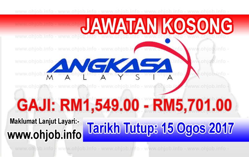 Jawatan Kerja Kosong Agensi Angkasa Negara Malaysia logo www.ohjob.info ogos 2017