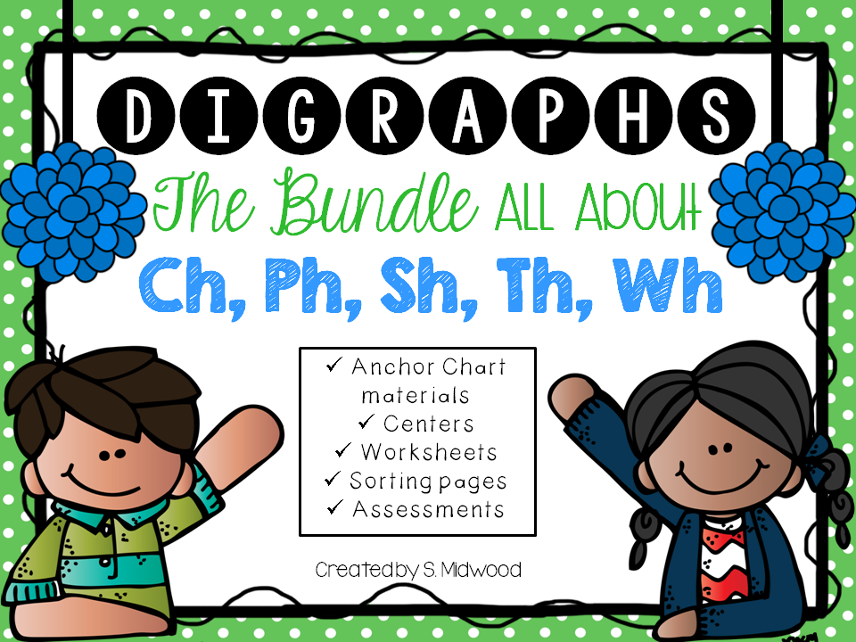 Lovin' Little Learners: All About Digraphs!
