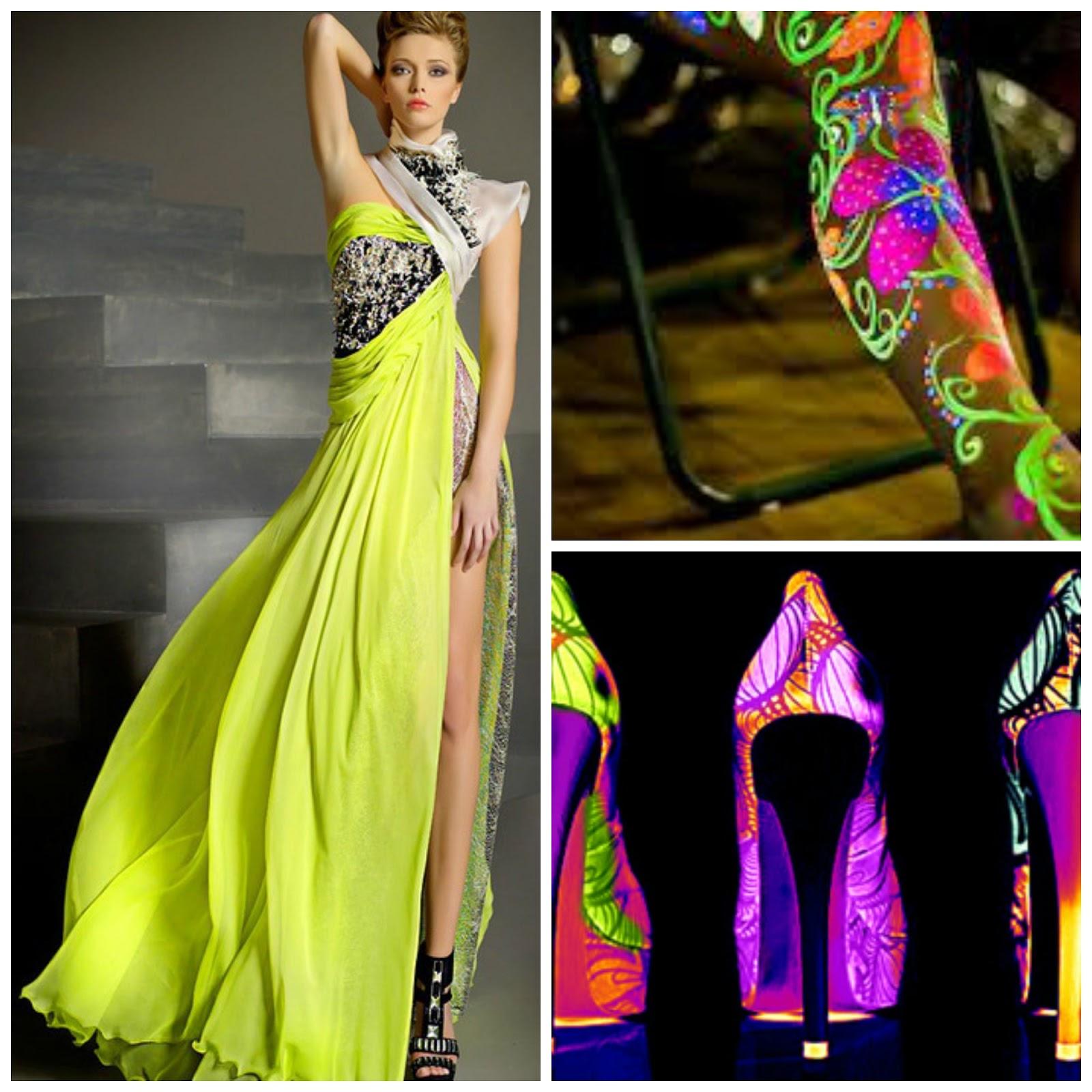 Neon Party... Ideas para la Decoraciu00f3n Outfit y Accesorios | Artes DaVinci - Ideas con Estilo