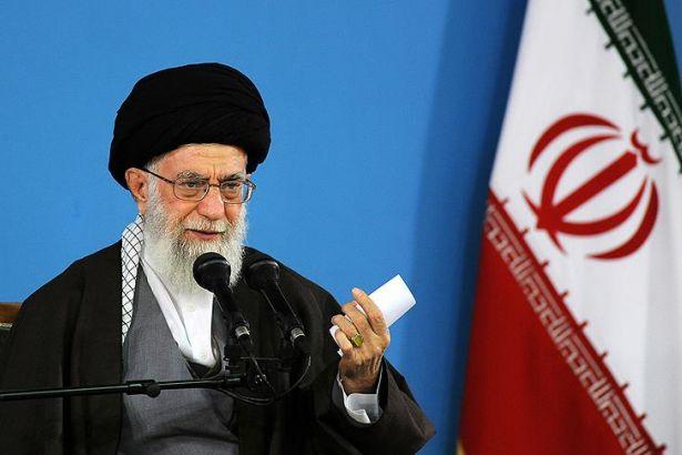 Ayetullah Ali Hamaney İran ABD Açıklama