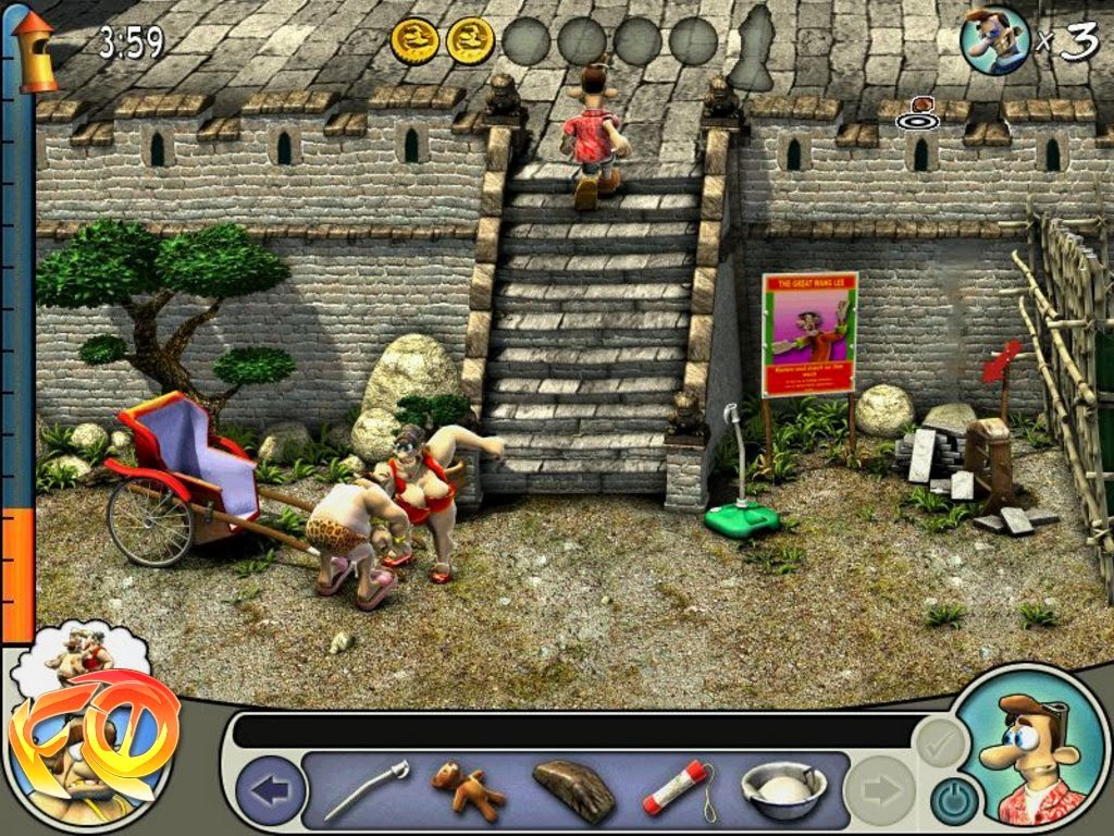 Neighbours from hell 2 game free download full version for pc.