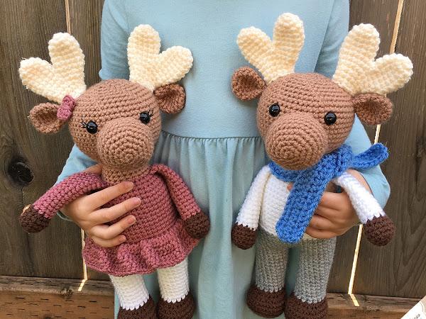 Amigurumi Moose - A Free Crochet Pattern