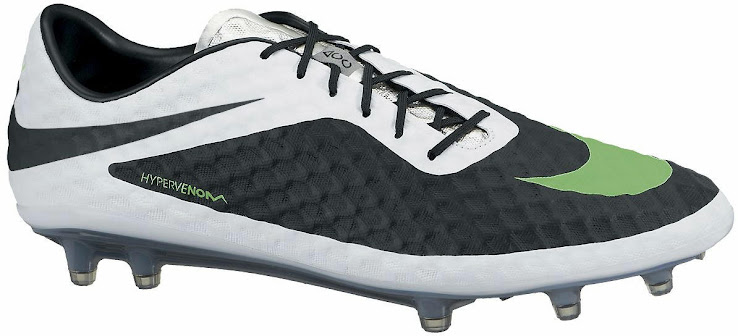 the best attitude bd6f6 2d3e9 Black / White Nike Hypervenom March 2014 Boot Colorway ...