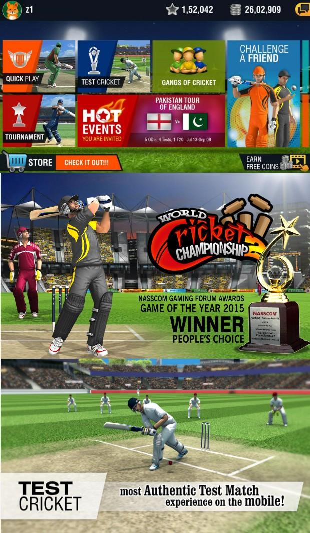World Cricket Championship - Screenshots